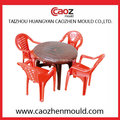Chaise en injection plastique / moule de table avec ensemble complet