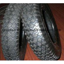 mais populares dos pneus de carrinho de mão, teste padrão do diamante