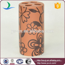 YSb40052-01-th round dolomite Antique toothbrush holder