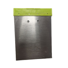 50# Carbon Steel  80mm  Putty Knife  Scraper Green Color PP Handle Paint Scraper