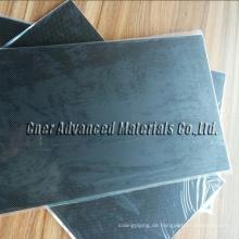 Hochwertige CNC-Bearbeitung von Kohlenstofffaserteilen / Kohlefaserblech Skype: zhuww1025 / WhatsApp (Mobile): + 86-18610239182