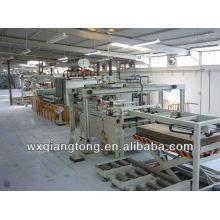 Laminador de panel / papel de melamina de madera máquina de prensa laminada