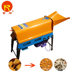 electronic corn thresher machine 900W 1800kg/hr