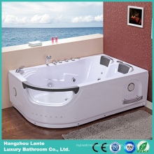 Two Person Indoor Water Massage Bathtub Sizes (TLP-665)