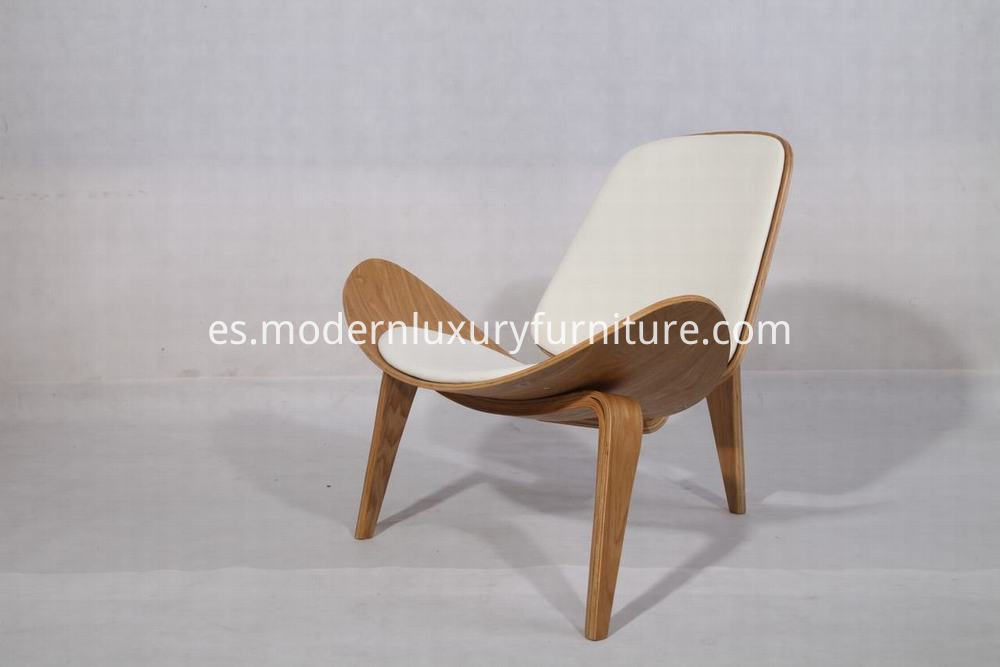 natural color shell chair