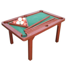 Children high quality wooden snooker table toy