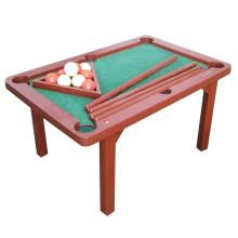 Crianças de madeira de alta qualidade snooker mesa de brinquedo