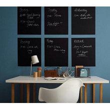 Adesivo de quadro-negro de parede removível personalizado barato