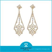 Boucle d'oreille de bijoux en argent sterling 925 fabricant pour les femmes (E-0259)