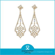 Производитель стерлингового серебра 925 ювелирные изделия серьги для женщин (e-0259)