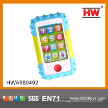 Hot Sale educational music toy mobile phone for kids