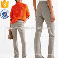 Wool Straight-leg Pants Manufacture Wholesale Fashion Women Apparel (TA3035P)