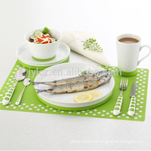 porcelain ceramic dinner set with non-slip silicone base