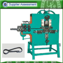 Steel wire hasp making and rolling machine