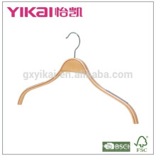 Wonderful shirt laminated clothes hanger with notches