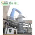 Système industriel d'extraction de la poussière pour le traitement des gaz de combustion