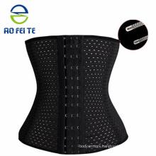 strong hooks waist trainer latex waist cincher, waist trainer corset, waist trainer dropship About the women waist trainer