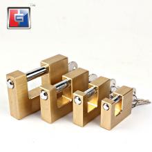 40 50 60 70 mm rectangular heavy duty  padlock locks rectangle anti saw heavy duty outdoor square brass padlock