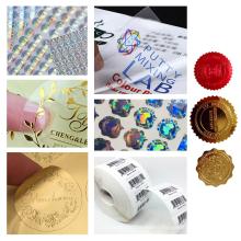 Cheap Custom Brand Logo Self Adhesive Packaging Sticker Label Print