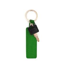 Fertigen Sie Soem-Förderungs-Geschenk-PU-Leder keychain kundenspezifisch an