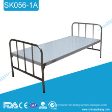 SK056-1A Cheap Stainless Steel Medical Hospital Flat Bed