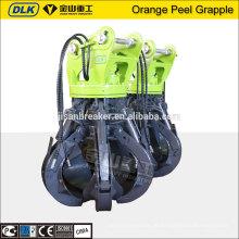 Für 17-23ton Hydraulische Orange Peel Grab, Hydraulische Rotation Bagger Greifen Eimer, Schrott greifen