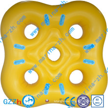 Wholesale Attractive design inflatable float swimming ring river tube for amusement park or water game