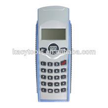 Medida de distância de sensor ultra-sônico com calculadora