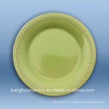 Servicio de mesa turco barato del restaurante de cerámica