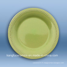 Vaisselle de restaurant bon marché en céramique turque