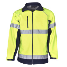 Customized Cotton Reflective Safety Work Jacket