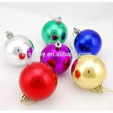 Decoración decorativa de plástico decorativo de la bola de Navidad