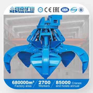 Kuangshan электрический гидравлический захват крана для подъема массовых материалов