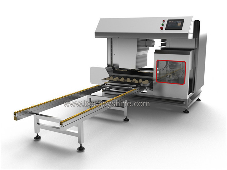 Round Steamed Bun Plate Machine