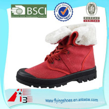 factory direct plush lining fashion cheap winter boots for women