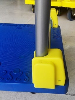 150kg Blue Noiseless Platform Hand Truck Folding trolley