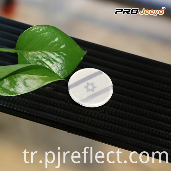 Israel Flag Custom Pin Badge