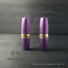 Lápiz labial tubo/carcasa de aluminio