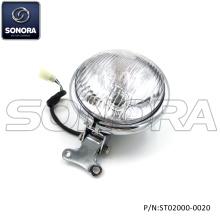 ZNEN ZN50QT-E1 RETROスクエアラウンドヘッドライト(P / N:ST02000-0020)最高品質