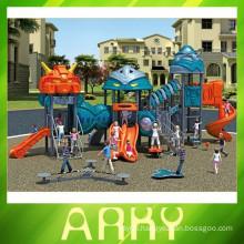 2015 used children outdoor hero playground equipment