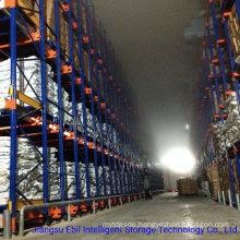 Supermarket Frozen Food Storage Pallet Runner Rack