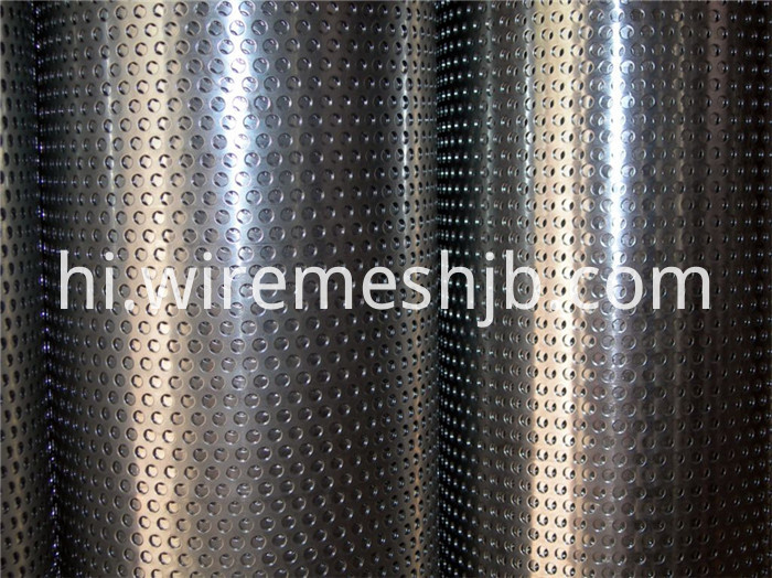 Galvanized Perforated Steel Plate