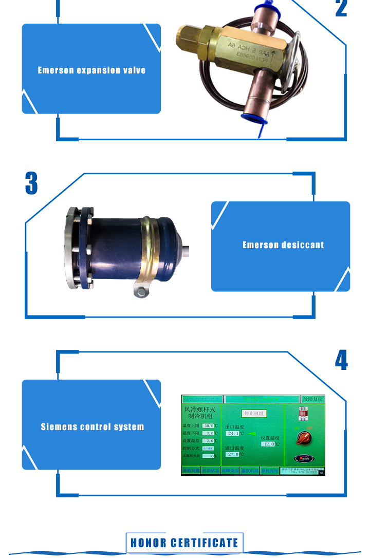 Air cooled screw chiller1