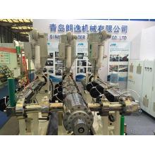 Linha da extrusão das tubulações de aquecimento de água dos PP PPR / maquinaria reforçada Glassfiber da produção da tubulação de PPR Trilayers