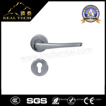 European South America and Australia America Stainless Steel Door Lever Handle on Rosette