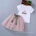 Kinder-Baby-Sommerwassermelonekleid des neuesten Entwurfs reizendes fantastisches