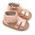 Cute Leather Sandal Shoes Leopard Moccasins Baby Sandal