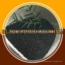schwarzes geschmolzenes Aluminiumoxid / schwarzes Aluminiumoxidpulver / Korund für Sandstrahlschleifmittel