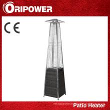 Quartz Glass Tube Patio Heater with Wicker Base