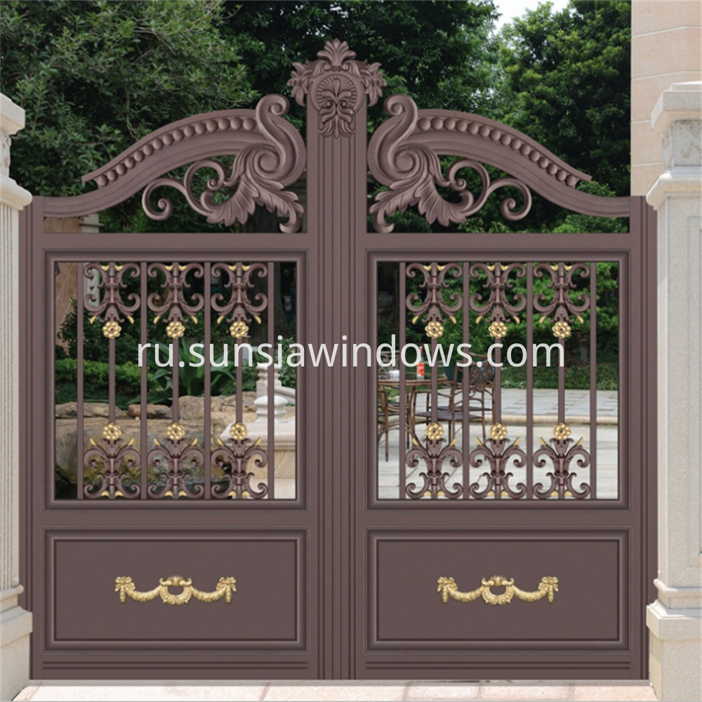 Aluminum Front Entry Gate